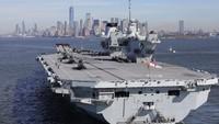 Usai Larang Huawei, Inggris Siapkan Kapal Induk Awasi China