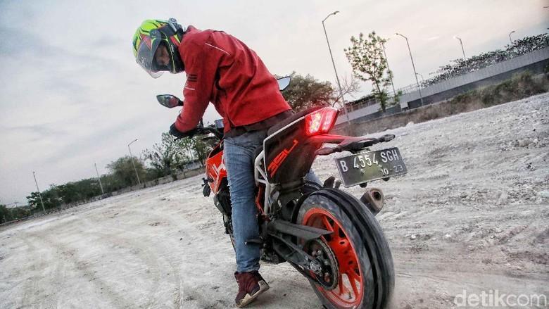 Touring Road Warriors menuju Surabaya Foto: Pradita Utama