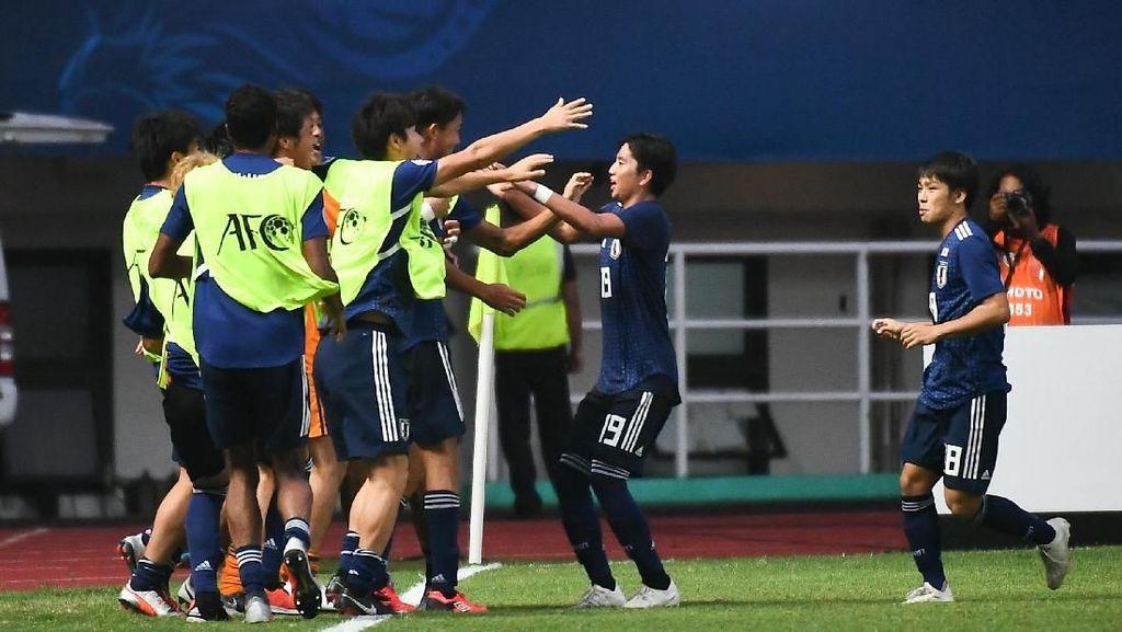 Jelang Lawan Indonesia di Piala Asia U-19, Jepang Gilas Irak 5-0