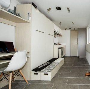 Kontainer Disulap Jadi Rumah Minimalis, Yuk Lihat Interiornya