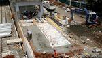 Melihat Progres Pembangunan Stasiun Buaran di Jakarta Timur