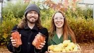Pasangan Vegan Ini Hidup dari Konsumsi Makanan yang Terbuang