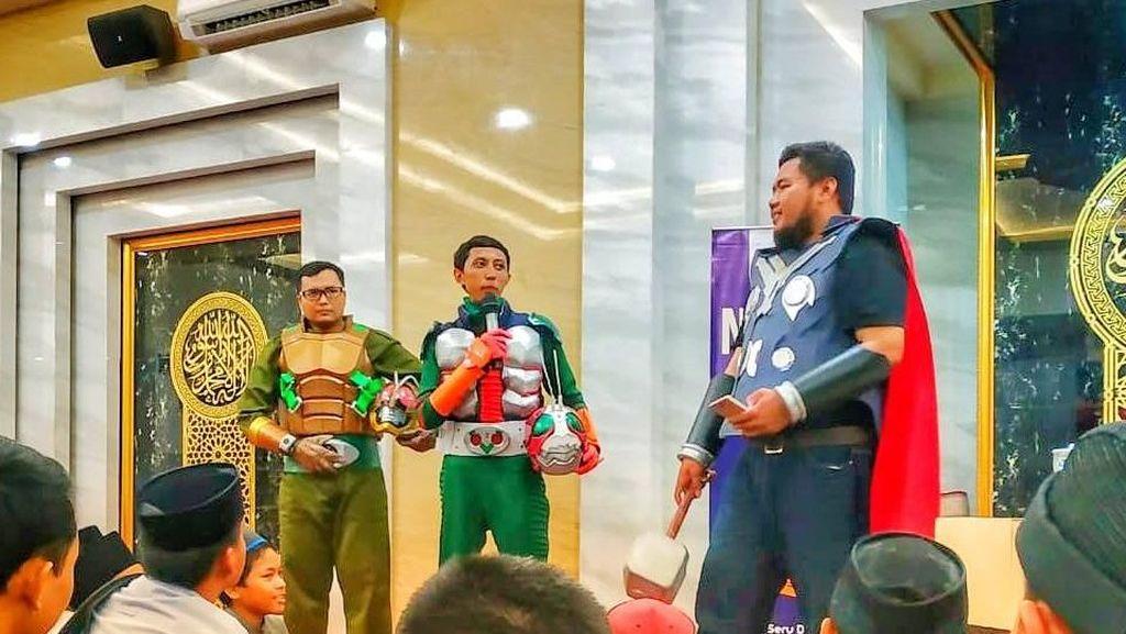 Ada Thor dan Naruto Ikut Pengajian di Surabaya, Begini Ceritanya
