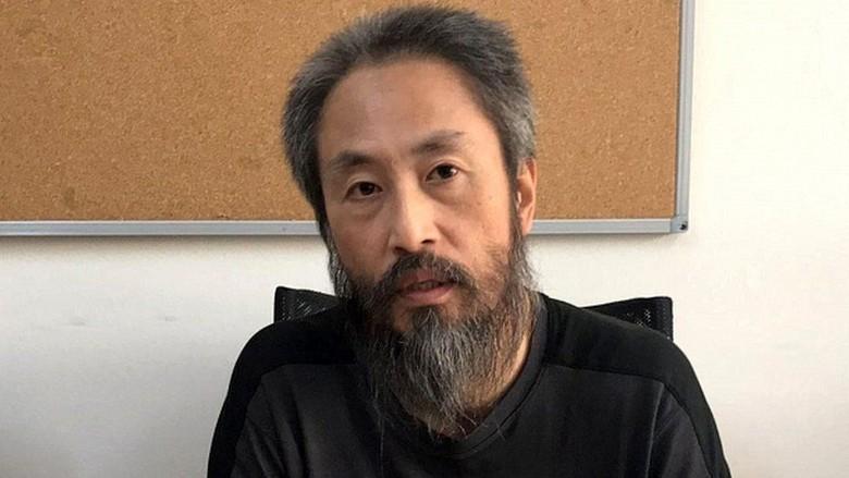 3 Tahun Disandera Militan Suriah, Wartawan Jepang Dibebaskan