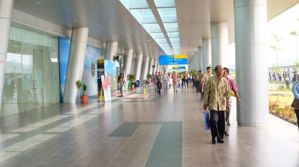 Diresmikan Jokowi, Bandara APT Pranoto akan Diperluas Lagi
