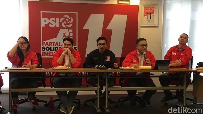 Partai Solidaritas Indonesia (PSI) menguliti sisi buruk kunjungan kerja DPR ke luar negeri/Foto: Indra Komara-detikcom