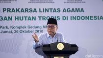Ketua MPR Dukung Kolaborasi Lintas Agama untuk Pelestarian Hutan