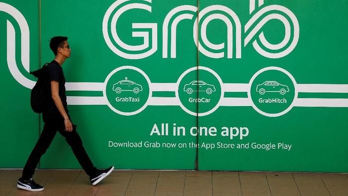 Grab kembali mendapat suntikan dana segar, kali ini dari Bank Thailand yaitu Kasikorn sebanyak lebih dari Rp 700 miliar. Foto: Reuters