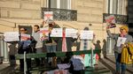 Demo Warga Dunia Tuntut Keadilan untuk Jamal Kashoggi