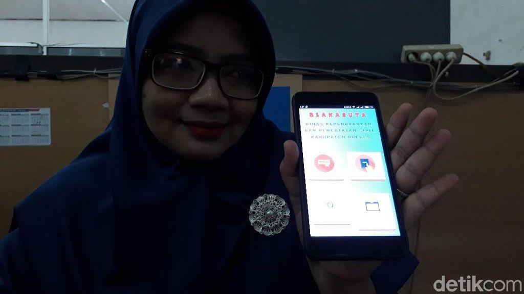 Cegah Calo e-KTP di Brebes, Kini Ada Aplikasi Blakasuta