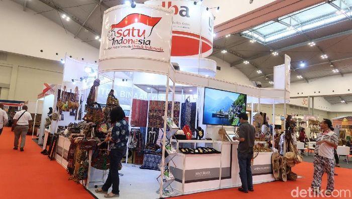 pameran Trade Expo Indonesia 2018 Foto: pol.