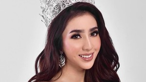 Potret Cantik Nadia Purwoko, Juara 3 Miss Grand International 2018