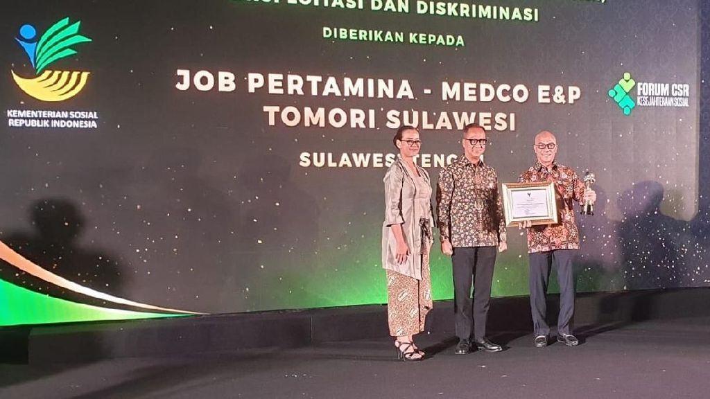 Anak Perusahaan Pertamina Hulu Energi Raih Award dari Kemensos