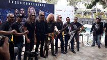 Di Yogyakarta, Megadeth Bongkar Rahasia Bisa Eksis 35 Tahun