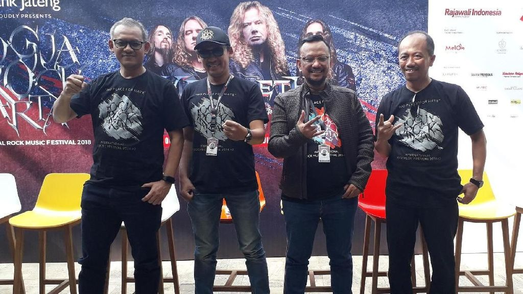 Lets Rock! Blackout dan Koil Buka JogjaROCKarta 2018
