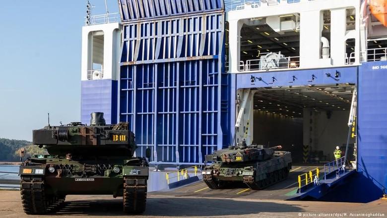 NATO Galang Latihan Perang Terbesar Pasca Perang Dingin