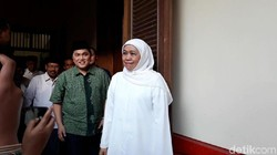 Saat Kampanyekan Jokowi, Khofifah Disebut Ibarat Striker Tanpa Bola