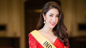 Juara 3, Begini Aksi Nadia Purwoko di Ajang Miss Grand International 2018