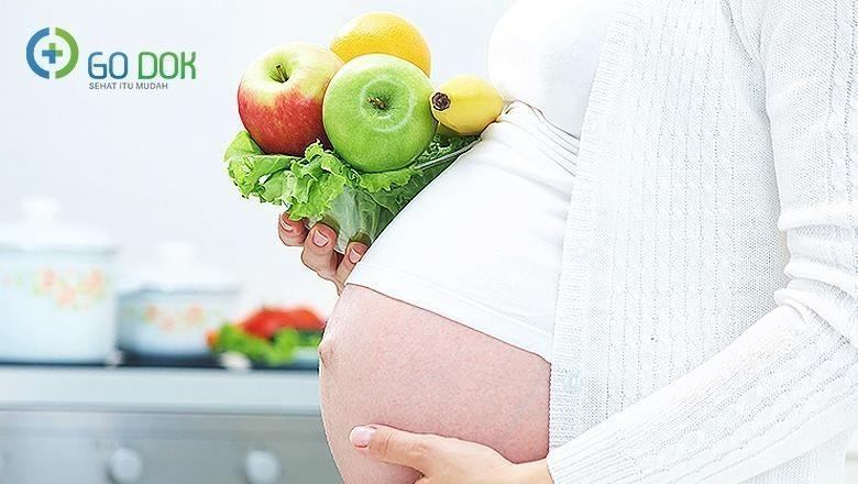 Pola makan ibu hamil anak kembar/ Foto: go dok