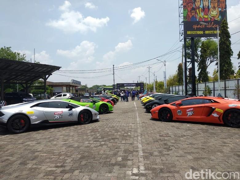 Banteng Lamborghini Jelajah Semarang-Yogyakarta. Foto: Luthfi Anshori
