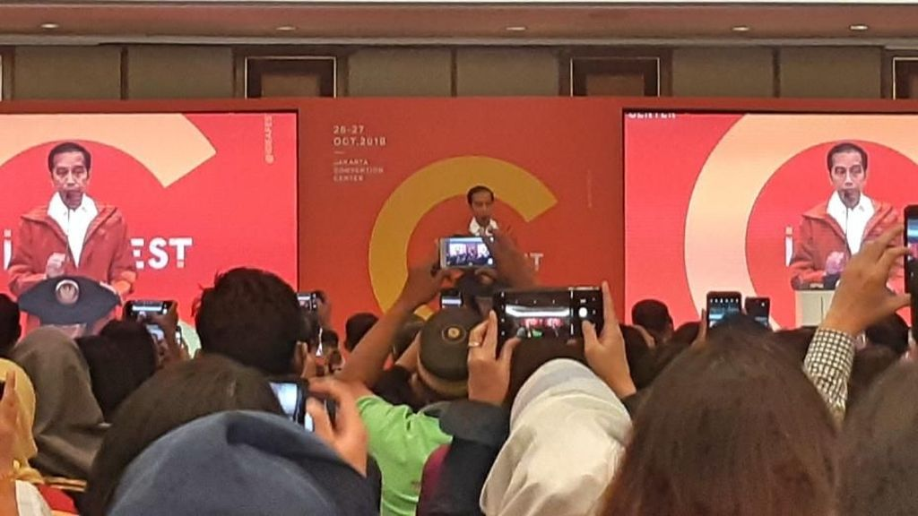 Jokowi Singgung Bitcoin Sampai Teknologi Star Trek