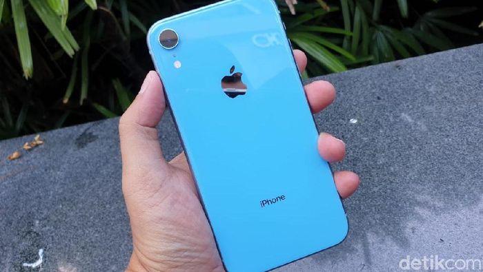 Kira-kira nama apa yang akan diberikan Apple untuk iPhone 2019? (Foto: detikINET/Adi Fida Rahman)
