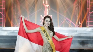 Nadia Purwoko dari Indonesia Jadi Juara 3 Miss Grand International 2018