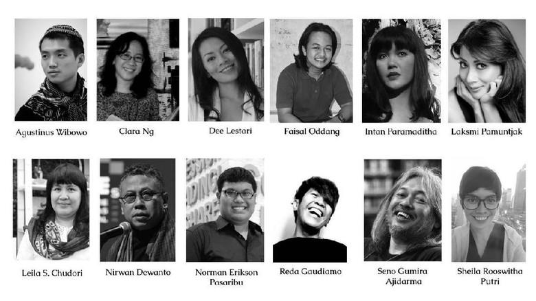 Pembacaan Naskah Drama Indonesia Jadi Salah Satu Agenda di LBF 2019 Foto: (Tia Agnes/detikHOT)