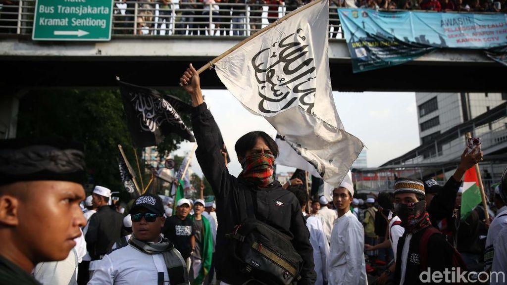 Potret Aksi Bela Tauhid di Jakarta