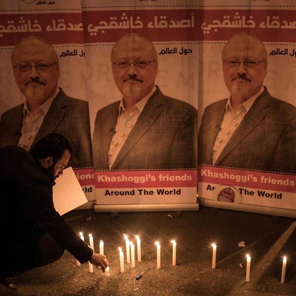 AS Jatuhkan Sanksi ke 17 Pejabat Saudi soal Pembunuhan Khasoggi