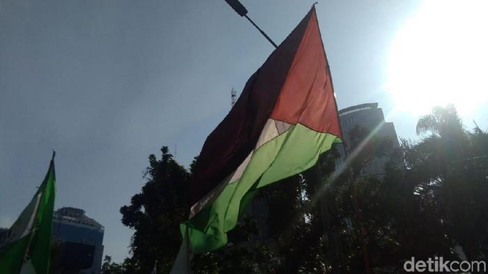 Foto:Ilustrasi Bendera Palestina (Lisya Sri Rahayu/detikcom)