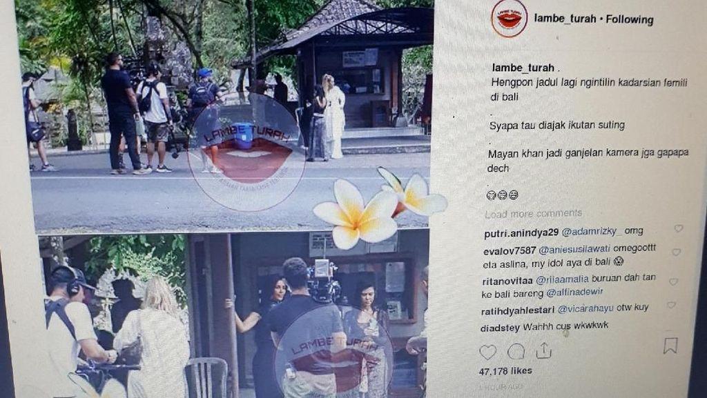 Momen-momen Liburan Keluarga Kardashian di Bali