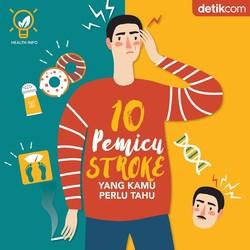 10 Hal yang Bisa Memicu Serangan Stroke