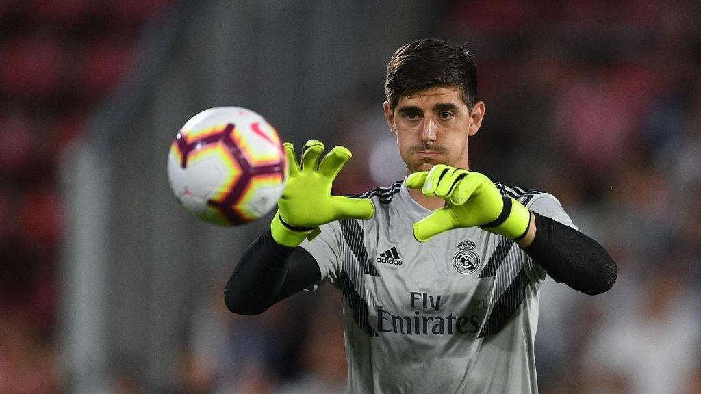 Courtois Disebut Anak Kemarin Sore di Real Madrid