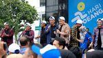 Gaya Kece Sri Mulyani Dance Korea di Hari Oeang ke-72