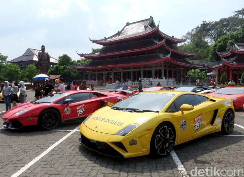 Lamborghini di Indonesia Foto: Luthfi Anshori