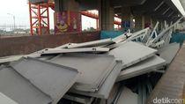 Penumpang Panik Saat Plafon LRT Palembang Ambrol, Tak Ada Korban