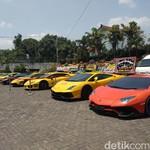 Crazy Rich Indonesian, ke Kondangan Naik Puluhan Lamborghini
