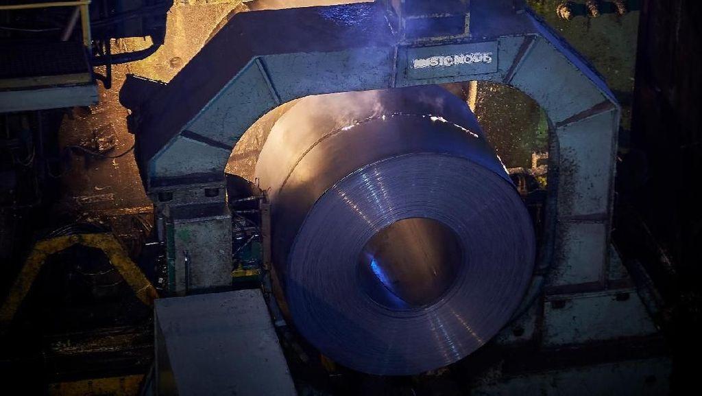Produksi Baja KS Capai 203.000 Ton, Masih Butuh Impor?