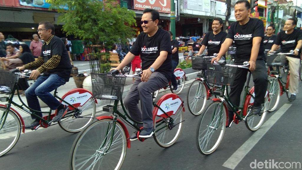Mau Keliling Malioboro Yogya, Kini Tersedia Sepeda