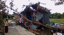 Belasan Rumah di Palembang Rusak Diterjang Angin Kencang