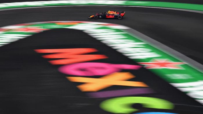 Max Verstappen tercepat di GP Formula 1 Meksiko. (Foto: Clive Mason/Getty Images)