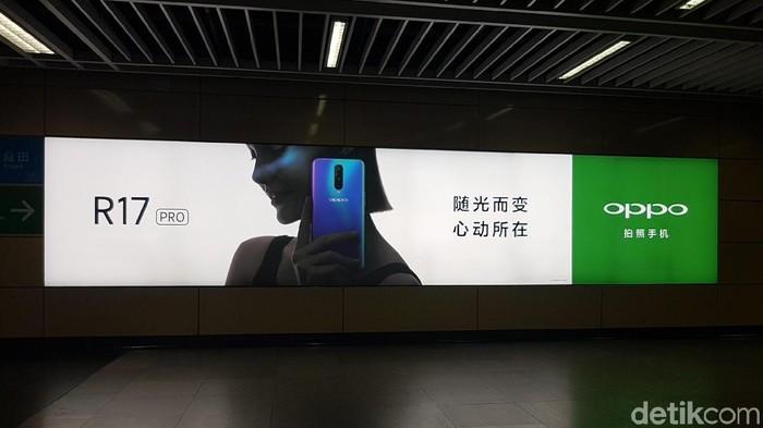 Setelah dirilis di China, Oppo R17 Pro mulai mendatangi sejumlah negara di Asia Tenggara (Foto: detikINET/Kris Fathoni)