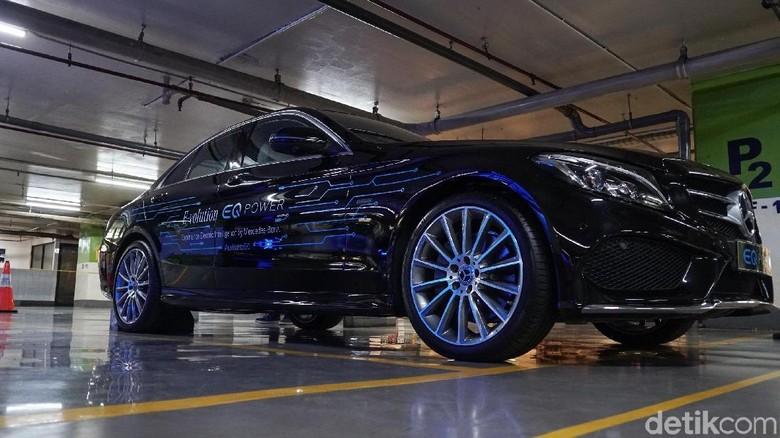 Mobil listrik Mercedes-Benz Foto: Mercedes-Benz