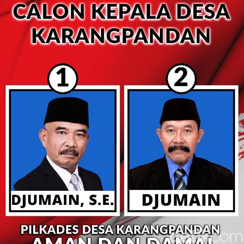 Foto Dan Gelar Jadi Pembeda Duo Djumain Dalam Pilkades Malang