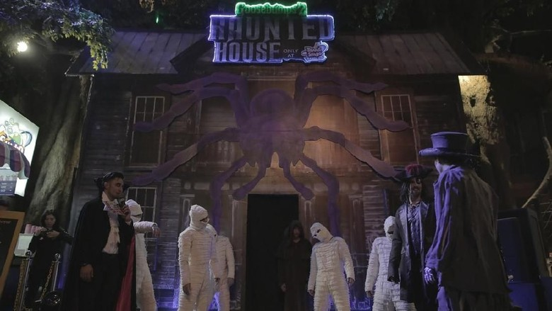 Wahana rumah hantu di Trans Studio Bandung (dok Trans Studio Bandung