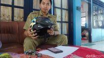 Kreasi Unik Siswa SMK di Lamongan, Helm yang Bisa Isi Daya Ponsel