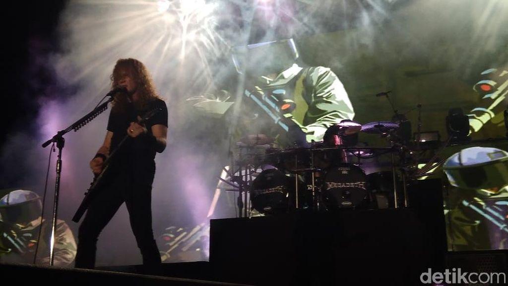 Megadeth Sihir JogjaROCKarta 2018!