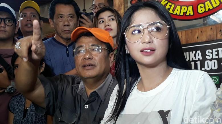 Dewi Perssik (Foto: Desi/detikHOT)