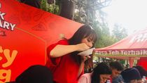 Intip Keseruan Spicy Noodle Contest di Pucuk Coolinary Festival Bandung